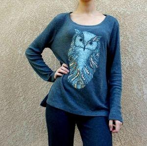 Xhilaration gray owl sleepwear